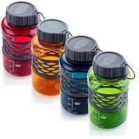 A lightweight, rugged water bottle for use in the outdoors.  BPA free.