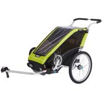Thule Chariot Cheetah XT is the lightweight performer, the perfect training partner for the athlete in the family.