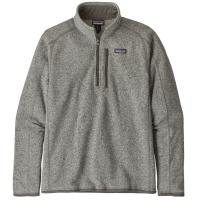 A warm, low-bulk quarter-zip pullover made of soft, sweater-knit polyester fleece that's Fair Trade Certified sewn.
