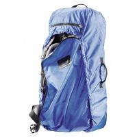 A transport cover for 60-90 L packs on planes, trains and automobiles