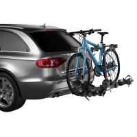 Lightweight, platform hitch bike rack that is perfect for a variety of bikes, keeping them safe and secure on any journey.