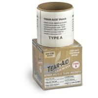 An elastic, clear patch to repair tears in nylon and a variety of other materials - Bulk roll