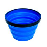 Flexible yet sturdy and collapsible back country cup