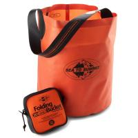 This ultralight and strong bucket will carry nearly half the lake back to your campsite