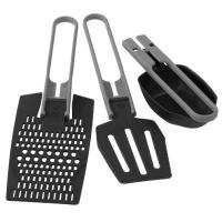A set of MSR multi-task, compact and light folding utensils, so you can bring them anywhere you go.