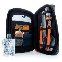 An 11 piece set that neatly stores in a soft, zippered case, ideal for cooking larger meals.