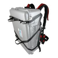Portage 30L or 60 L Barrels, or many other hard to carry items with this innovative harness.