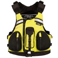 Comfort and safety in a popular multi-function touring PFD for canoeing, kayaking and paddleboarding, with PVC-free foam.