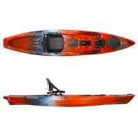 Wilderness Systems first tri-powered kayak with paddle, power and pedal capabilities. The Radar features S.M.A.R.T. Hull Technology.