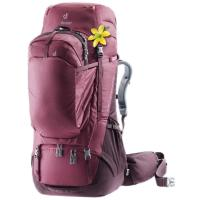 Ergonomic women's fit and hip fins, with a Contact back system makes this pack extremely comfortable to carry when fully loaded. Integrated day pack.