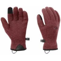 The Flurry Sensor Gloves are constructed of Alpin-Wool Plus fabric, the wool/nylon exterior sheds snowflakes, while the soft fleece interior provides ultimate warmth.