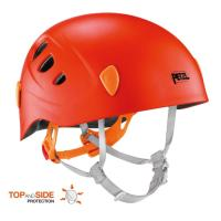 A very light and comfortable, constructed for durability children's climbing and cycling helmet, with reinforced protection.