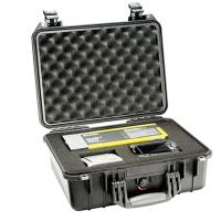The Pelican 1450 Case is unbreakable, watertight, airtight, dustproof, chemical resistant and corrosion proof!