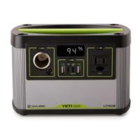 The Yeti 200X Power Station delivers high-quality lithium power you can rely on, housed in an ultra-portable design.