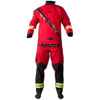 A super tough drysuit designed for industrial or search and rescue use