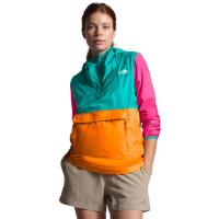 Versatile pullover packs into its own fanny pack for coverage when needed.