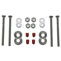 The perfect bolt kit to install canoe yokes, seats, thwart or handle installation, made of high quality stainless steel.