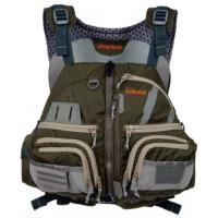 The ultimate kayak fishing life vest with tones of pockets for all your fishing tackle.