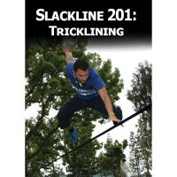 If you have mastered the basics of slacklining this is the next step. Learn how to trickline with the Slackline 201: Tricklining DVD.