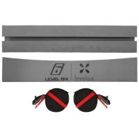 A kit containing two kayak foam blocks and two 4m straps.