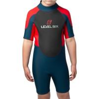 The Child Shorty 2mm neoprene wetsuit is designed to keep you protected against cold water and weather.