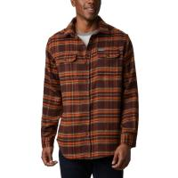 Add this insulating button-up flannel to your cool-weather wardrobe, built with heavyweight fabric for that lumberjack feel.