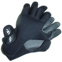 Cushioned full-fingered paddling glove for cold weather canoeing and kayaking.