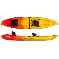 A stable tandem sit on top kayak that can handle a variety of water conditions with ease.